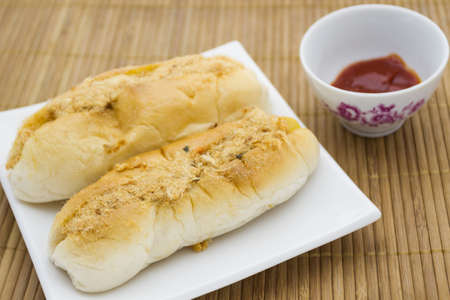 French Baguette vietnam style (sandwiches vietnam style)  photo