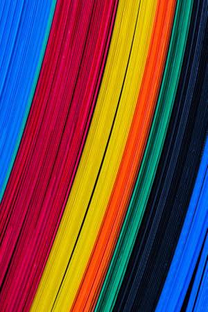 La texture de la couleur des feuilles de plastique ondulé, fonction conseil.