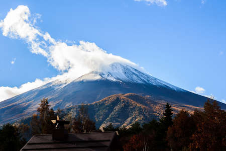 common people: Mount Fuji , located on Honshu Island, Japans highest mountain that the nearly perfectly shaped volcano has been worshiped as a sacred mountain and experienced big popularity among artists and common people throughout the centuries.