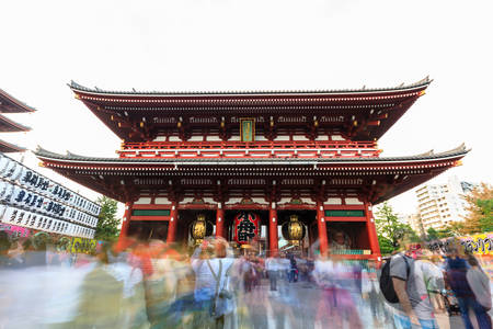 senso ji: Sensoji, also known as Asakusa Kannon Temple is a Buddhist temple located in Asakusa. It is one of Tokyos most colorful and popular.