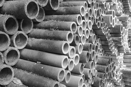 Ceramic pipe wall pattern background. photo