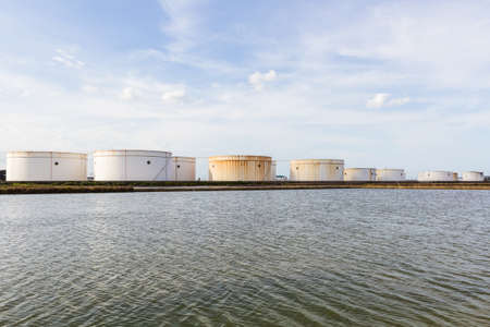 propylene: Oil tank or gas container in south of Thailand.
