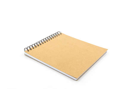 sketch book: Sketch book isolated on white background