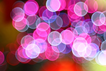 Bokeh lighting photo