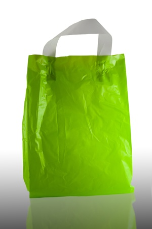 recycle plastic bag  Stock Photo