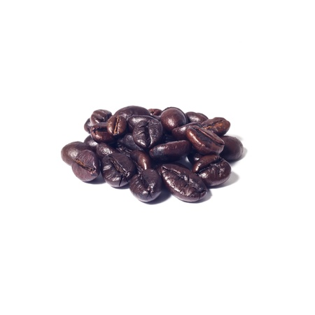 coffee beans with isolate white background Stock Photo - 19623435