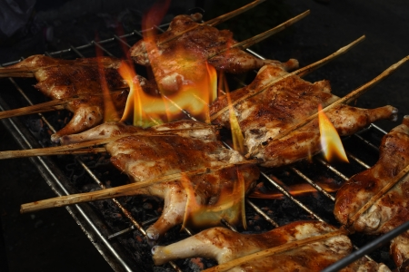 roast chicken on the grill  Stock Photo - 20164009