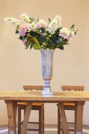 Bunch Of Flowers Inside Ceramicl Vase Stock Photo Picture And
