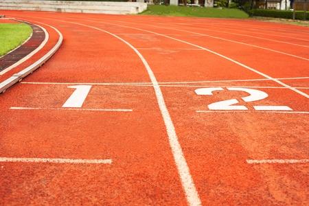 old sport running track photo