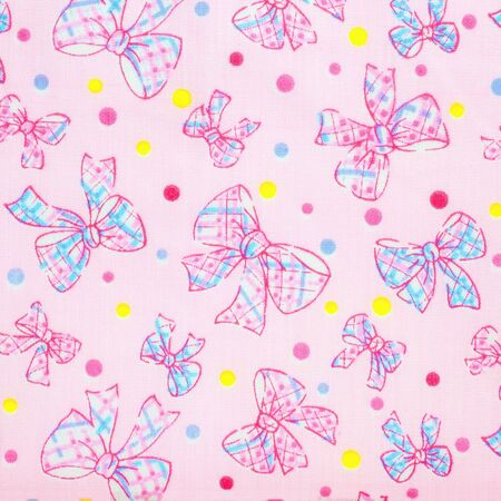 Pink cloth background with fabric texture,  Stock Photo - 21601831