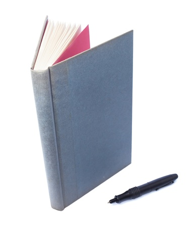 scientific literature: Gray book on white background