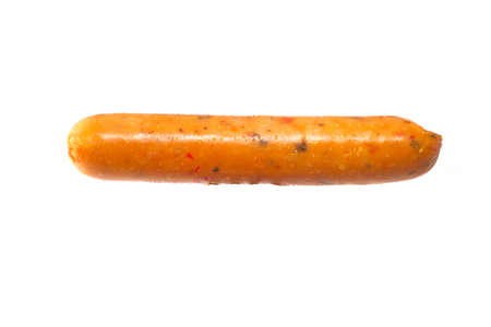 Hot and spicy sausages.Isolated Stock Photo - 21851764