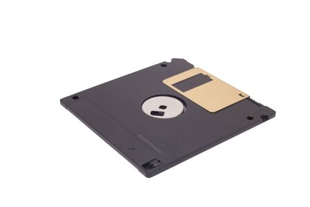 salvaging: Magnetic floppy disc icon for computer
