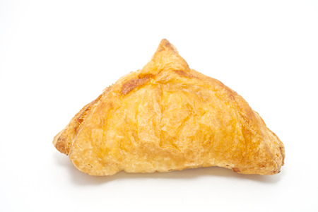 Thai style curry puffs with coffee  photo