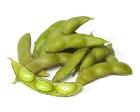 nibbles: edamame nibbles, boiled green soy beans