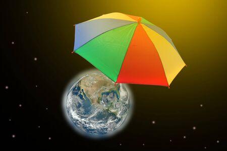 umbella: save hot earth with umbrella