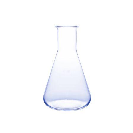 erlenmeyer: empty laboratory glass Stock Photo