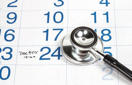 Reminder on calender for Doctor Appointment