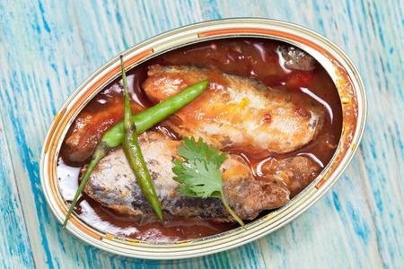 fish sauce: tinned fish,Mackerel filet in Tomato sauce.