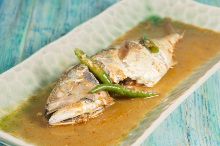 chili's restaurant: Ingredients of Fish fried with Chili Sweet Sauce Stock Photo