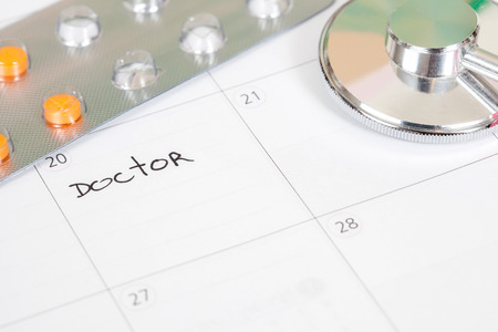 appointment: Reminder Doctor appointment in calendar