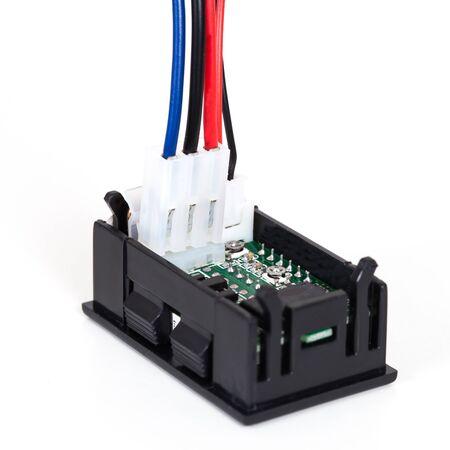 volt: part of digital volt meter for dc volt