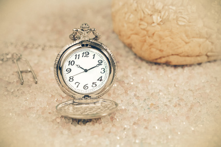 Antique pocket watch Stock Photo