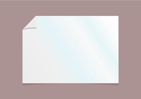 white paper texture background , illustration