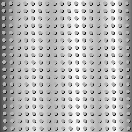 Metal or Steel texture background.Illustration. Stock Vector - 108655043