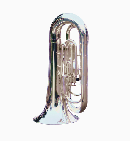 Marching Trombone musical instruments perfect for marching bands . Stock fotó