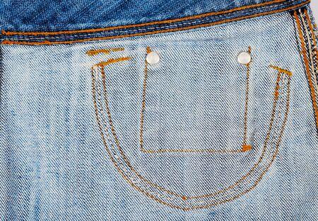 Texture of Denim jeans fabric background . Zdjęcie Seryjne