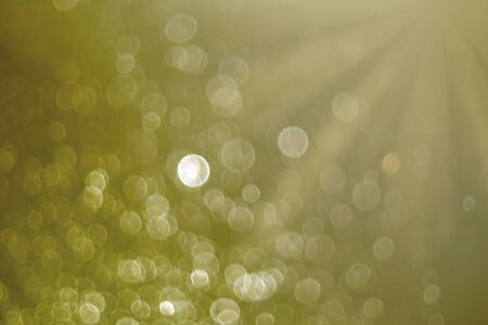 Background of abstract glitter or bokeh lights. defocused