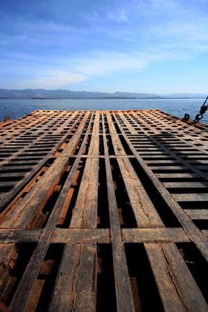 Le pont de fer, Tha�lande