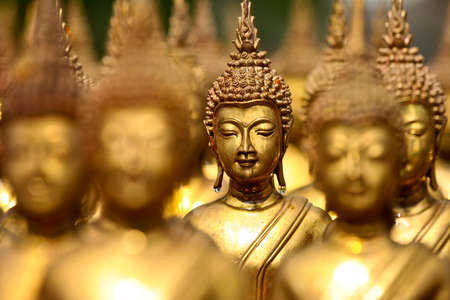 close up sculpture of budha