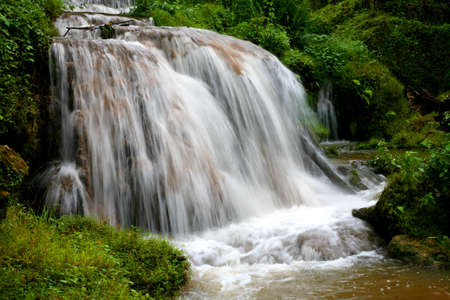 Landscape water fall