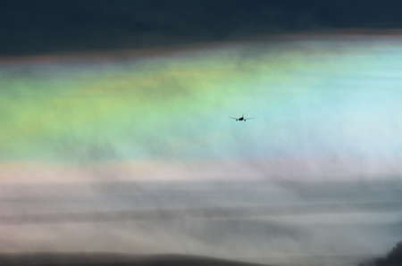 iridescent: A rare sight  iridescent clouds