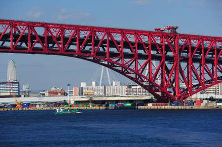 Minato Bridge � Osaka, Japon