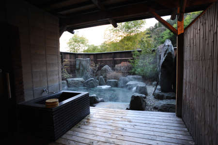 ryokan: Japanese open air hot spa onsen