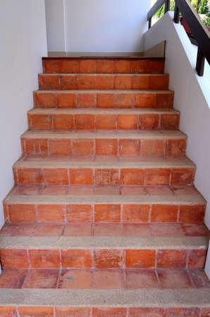 Brown Brick Steps