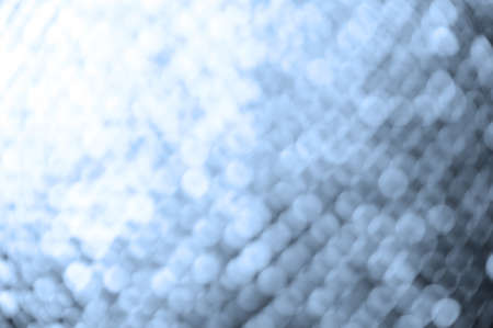 bokeh lights background with colors of white and blue