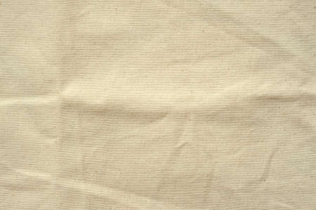 Natural sackcloth textured for background. Stock Photo