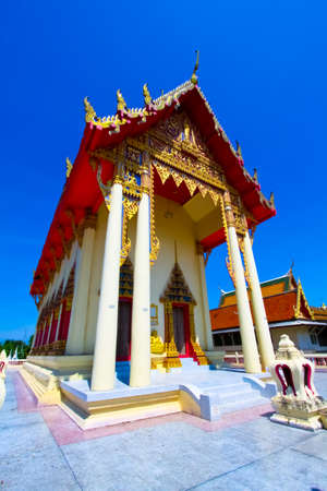 Buddhist temple in thailand photo
