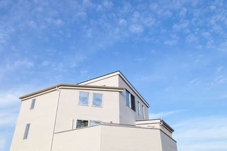 forsale: Aichi, JAPAN -September 15, 2015:Home and blue sky background in Aichi, JAPAN.,house or home for Rent. Editorial