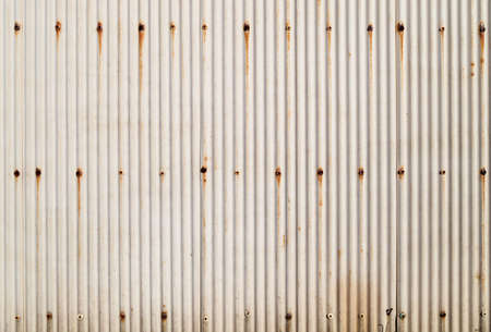 rusty metal texture: A rusty corrugated iron metal texture , can use for background Stock Photo