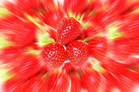 Fresh strawberry use for background., strawberry with filter effect.