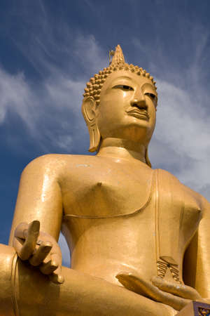 singburi: buddha statue2,singburi,thailand Stock Photo