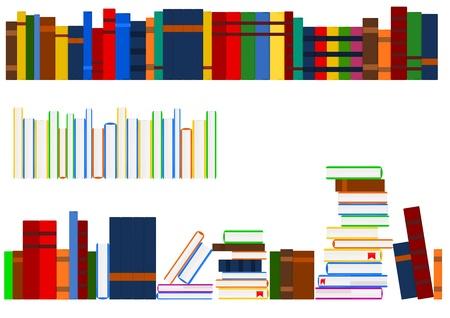 Reihe der Bücher Standard-Bild - 12471165