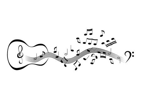 pentagrama musical: Notas sobre las duelas