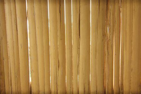flooring: Bamboo flooring Stock Photo