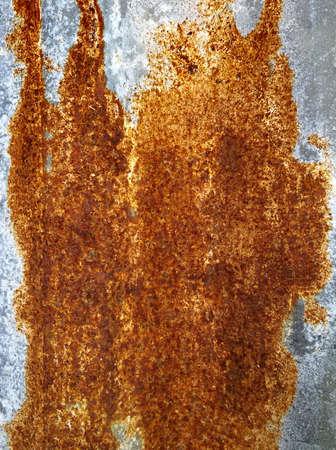 Background of urban rust texture. Rusty metallic texture old orange-brown color.